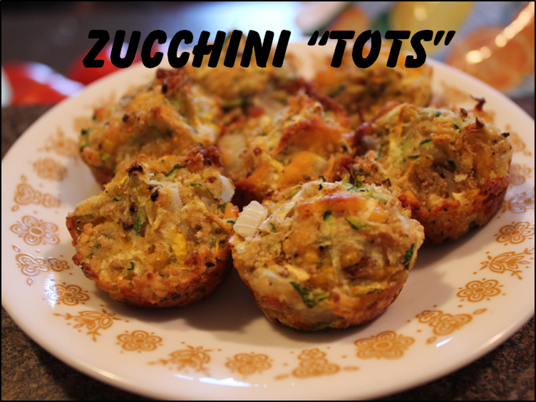 """Zucchini """"Tots"""" 